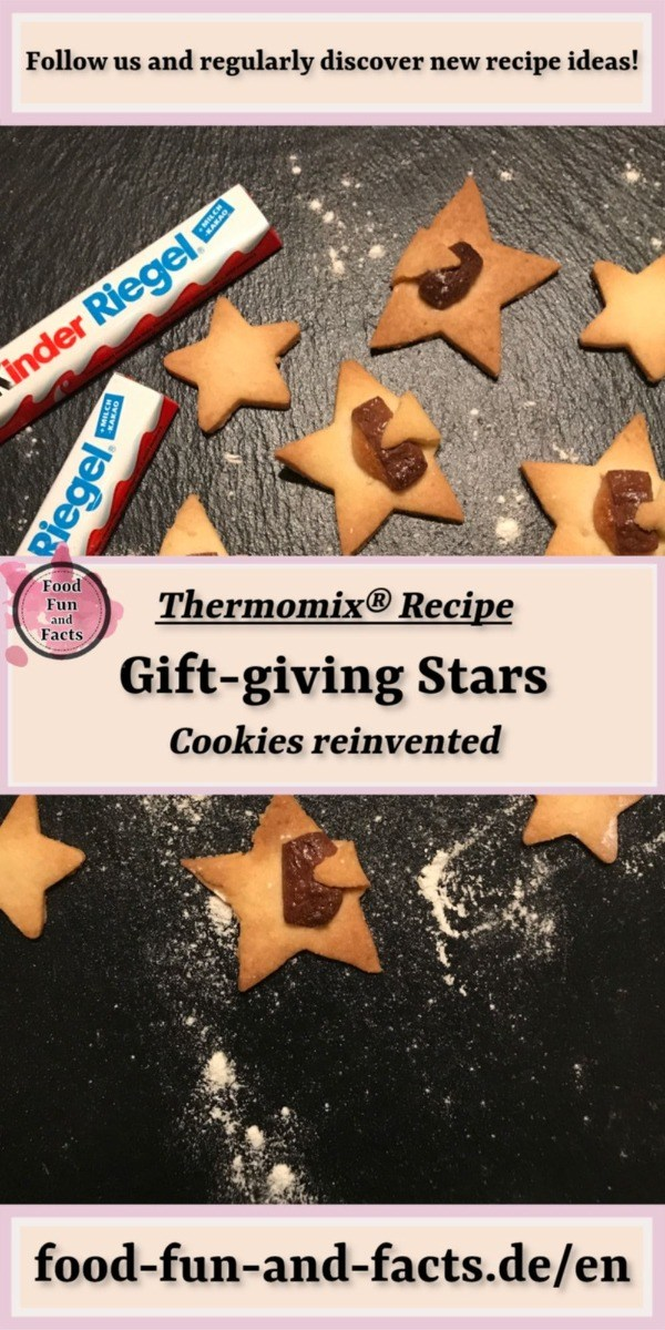 Gift-giving Stars Thermomix Recipe Pin