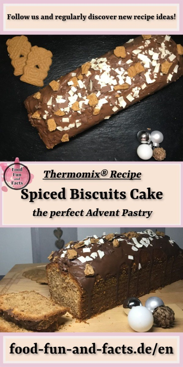 Spiced Biscuits Cake Thermomix Recipe Pin