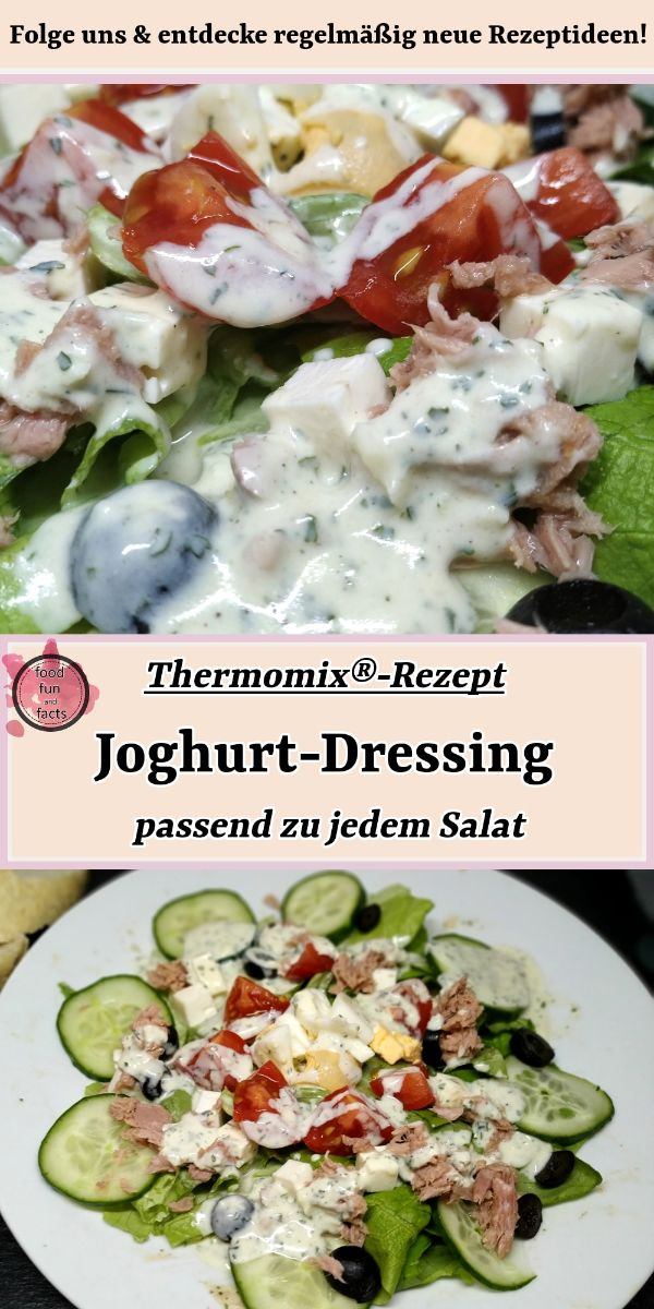 Joghurt-Dressing Thermomix Rezept Pin