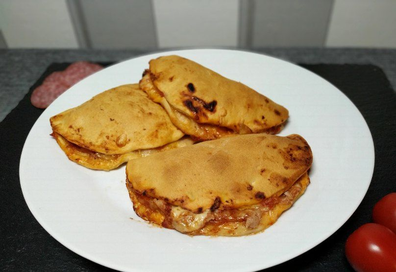 Mini-Calzone Thermomix-Rezept