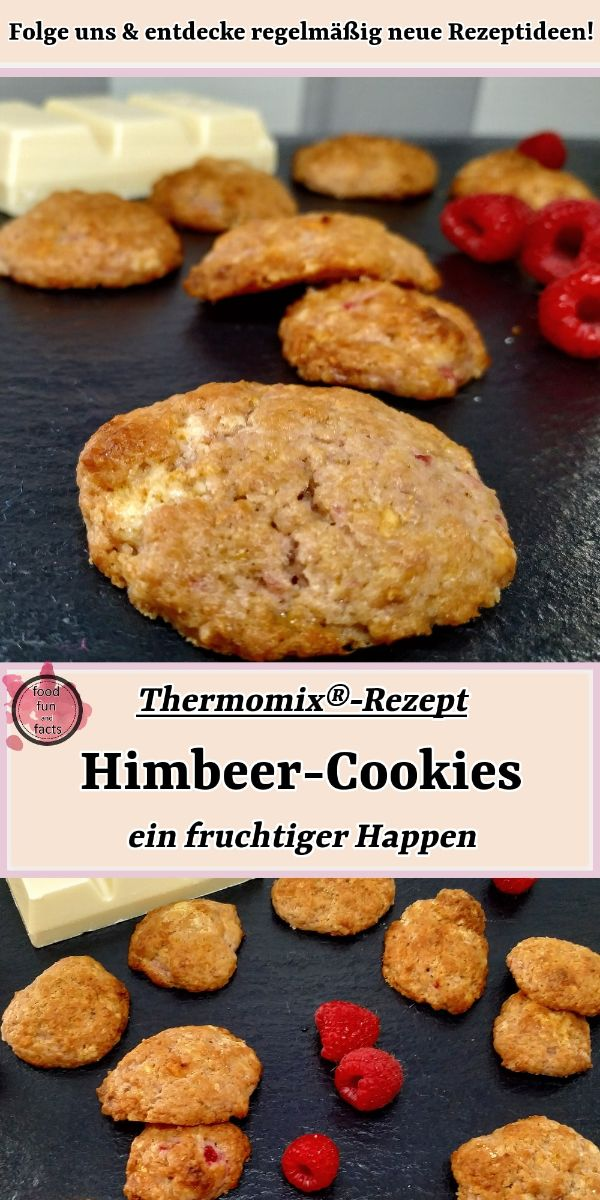 Himbeer-Cookies Thermomix Rezept Pin